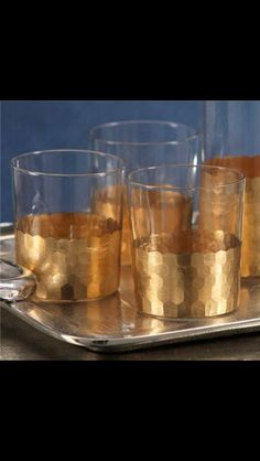 Beautiful set of bar glasses
