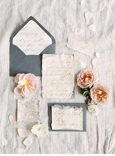 Verträumt Elegante Brautinspirationen von Shannon Moffit Photography