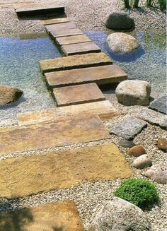 There are a lot of benefits that come with having a garden bridge at your own home. Garden bridges have been preferred by homeowners who wish to add a unique sense of vogue to their garden landscaping, and can surely… Continue Reading → Pool Water Features, Water Features In The Garden, Garden Paths, Garden Bridge, Small Gardens, Outdoor Gardens, Water Garden, Dream Garden, Backyard Landscaping