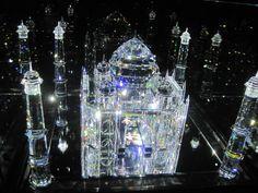 I visited the Swarovski Crystal museum in Innsbruck, Austria. 3D model of the Taj