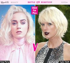 Katy Perry Dyes Hair Platinum Blonde — Better Than Taylor Swift's PlatinumLook?