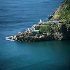 Newfoundland...you can actually stay overnight now in this lighthouse and the house next door! Right at the gate of St. John's Harbour!