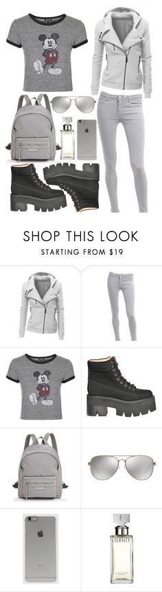 """""""Outfit #153"""" by sofi6277 on Polyvore featuring Victoria Beckham, Topshop, Jeffrey Campbell, Longchamp, Michael Kors, Incase and Calvin Klein"""