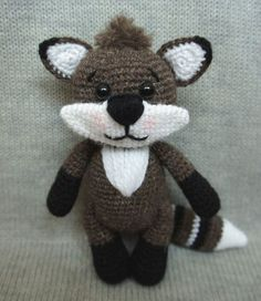 Raccoon haakpatroon gratis