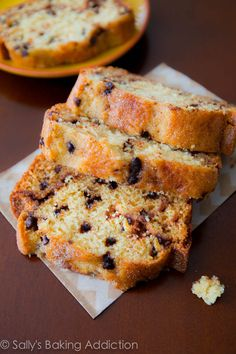 Super-moist, tender Cinnamon-Swirl Bread with Chocolate Chips by sallysbakingaddiction.com