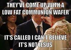Fat free Jesus!