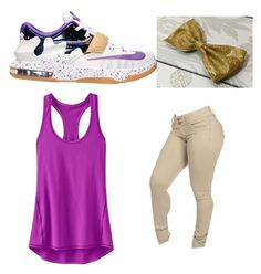 """OOMMGG!!"" by pretty-girl-rock12 ❤ liked on Polyvore featuring NIKE and Athleta"