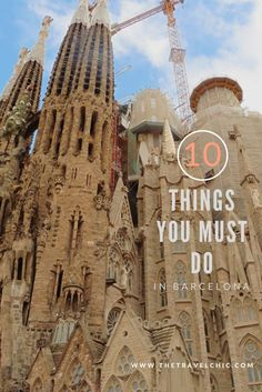 After spending a week in the beautiful Barcelona, I've put together a list of my ten recommendations of the best things to do in Barcelona. Read on to find out what to get up to in this amazing city.