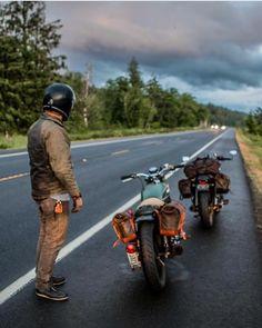 7,246 vind-ik-leuks, 28 reacties - Cafe Racers and Life (@epidemic_motors) op Instagram: 'Road trippin Via @nostalgia_memoir #StartYourEngines #motorcycle #bike #custom #ride…'