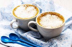 CRÈME AU LAIT DE COCO À LA VAPEUR Qui ne connaît pas les œufs au lait ? Ceci est une variante réalisée au lait de coco grâce au Vitaliseur de Marion. Les enfants et gourmands en raffolent !