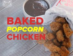 These Baked Chicken Bites Seriously Rival KFC's Popcorn Chicken
