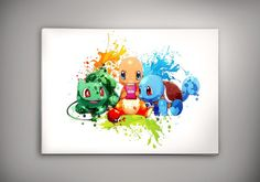 Pokemon Poster Anime, Pokemon go  ***Buy ANY 2 prints in the same size and PICK 3rd print for FREE. (in equal size!)***  How To Order:  1. Purchase any 2 prints in the same size. 2. Select any 1 additional print of your choice. 3. Just copy and paste the link for additional print you would like in the message to Zapalkowo box upon checkout, or message me on Etsy. 4. Please do not copy the titles of the item but copy the links.  If you forgot forgot to message me about chosen free print…