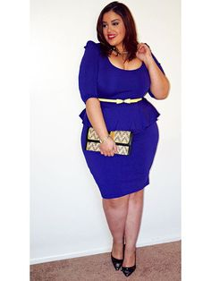 """Plus Size Fashion - Inside Allie's World: The Perfect """"Everything"""" Dress"""