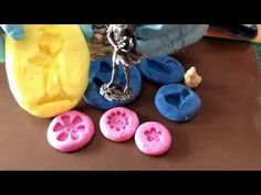 DIY Silicone mould putty home made...top class results - YouTube