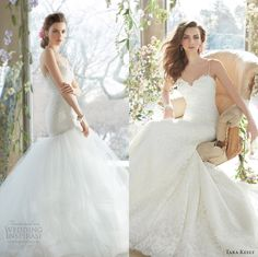 Tara Keely Spring 2014 Bridal Collection.