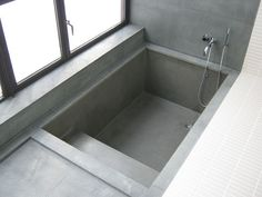 This tub recess has a sunken bathtub in a raised platform, all decked out in candy pink and green tiles. Description from pinterest.com. I searched for this on bing.com/images