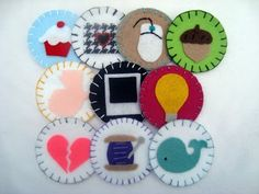 felt badges-for students to earn??