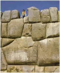 Wall on Easter Island... Reminiscent of Sacsayhuaman Ruins to me.