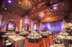 http://socalweddingconsultant.com Southern California Wedding Planner Indoor reception setup Padua Hills Theatre Weddings, Claremont