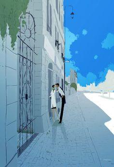 Warm Blues. by ~PascalCampion on deviantART