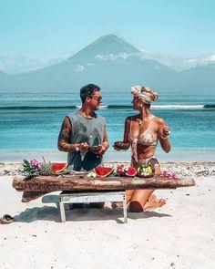 Trekking, Surf, Voyage Bali, Gili Trawangan, Gili Island, Lombok, Bali Travel, White Sand Beach, Paradise