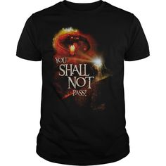 Lord Of The Rings - You Shall Not Pass Gandalf T Shirt | Buy at https://www.sunfrog.com/Movies/Lord-Of-The-Rings--You-Shall-Not-Pass-Black-Guys.html?6987