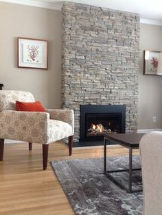 Converting Wood Burning Fireplace To Gas Design Ideas, Pictures, Remodel and Decor