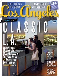 Los Angeles magazine February 2012