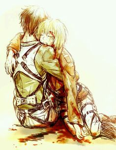 Nooo Armin NON poù morire!!! :\'(