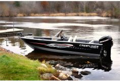 New 2010 Crestliner Boats Raptor 1750 TE Multi-Species Fishing Boat Boat