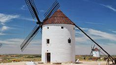 Molinos de viento.  Mota del Cuervo. Cuenca