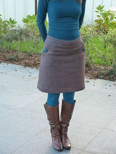I have no clue what any of this site says but I'm determined to make this… Quirky Fashion, Diy Fashion, Autumn Fashion, Diy Clothing, Sewing Clothes, Skirt Tutorial, Cool Style, My Style, Comfortable Fashion