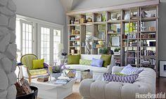 9 Brilliant Decorating Ideas for Your Bookshelves  - HouseBeautiful.com