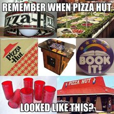 childhood My Pizza Hut nostalgia back in - Childhood Memories 90s, Childhood Toys, Great Memories, Vintage Magazine, Back In The 90s, 80s Kids, Pizza Hut, Pizza Food, I Remember When