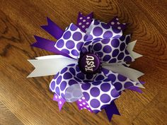 K-State hair bow - EMAW!