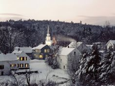 Christmas in New England.