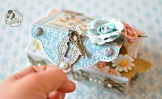 Adorable Little Altered Matchbox Inspiration...love this!