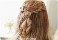 Tutorial for a Rodarte inspired braid - of course I see this after chopping a few inches off...