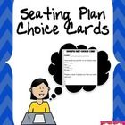 Free: Give students a structured choice and input into their learning environment with this free seating plan choice card.   The card has two sections - ...