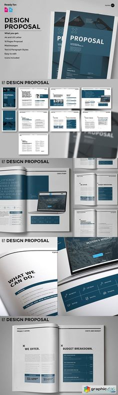 Web Design Proposal  Website Proposal Business Proposal And Web