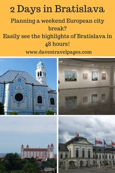 Planning a European city break? Bratislava is compact, packed full of history, and can easily be seen in 48 hours. Check out this guide on how to spend 2 days in Bratislava, the capital city of Slovakia.