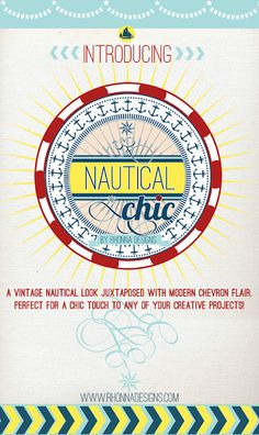 Rhonna DESIGNS: intRoducing>>>Nautical Chic! Love this new digital goodness from Rhonna!