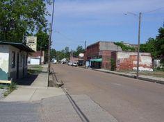 Main Street - Cotton Plant, Arkansas.