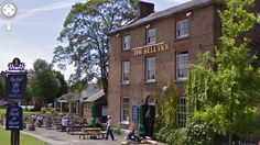 Bell Inn, Frampton on Severn, Glos, England.
