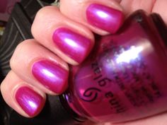 China Glaze nail polish - Reggae to Riches