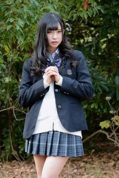 School Girl Dress, School Girl Japan, High School Girls, College Girls, Cute Asian Girls, Beautiful Asian Girls, Cute Girls, Cute School Uniforms, Girls Uniforms