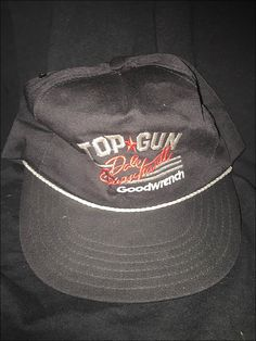 c4026f193ab Vintage 80 s NASCAR Dale Earnhardt Top Gun Snapback Hat Cap by  JourneymanVintage on Etsy Top Gun