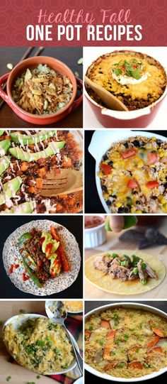 23 Healthy Recipes for Fall