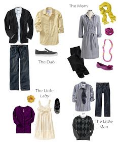 Erica Kirby Photography   Utah Wedding and Portrait Photographer: What To Wear for Family Pictures   Purples and Yellows