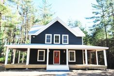 #Farmhouse 18 by #CatskillFarms; 1500 sq ft farmhouse on 7+ acres with lake rights.  It's sweeeeeet.